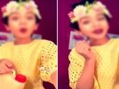 فيديو.. استغلال طفلة في الإعلان عن منتجات مجهولة المصدر