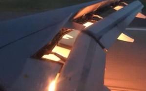 """فيديو: احتراق طائرة المنتخب السعودي.. و""""الاتحاد"""" يصدر بيانًا"""