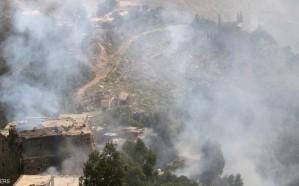 قصف حوثي على تعز وسط استمرار تقدم الجيش اليمني