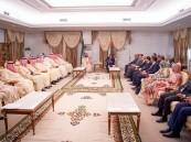 ولي العهد يعقد اجتماعًا ثنائيًا مع الرئيس الموريتاني