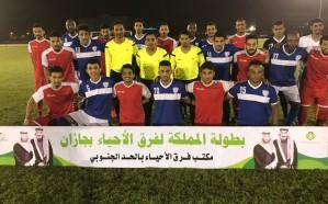 مباريات مثيرة في الدوري التصنيفي لمكتب فرق الأحياء بالحد الجنوبي