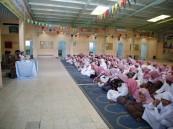 مرور الحناكية يتعاون مع مكتب التعليم في تقديم محاضرات توعوية لطلاب المدارس