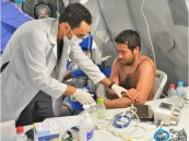 مستشفيات القوات المسلحة تقدم خدماتها الطبية لأكثر من 5000 مراجع في المشاعر