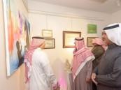 """""""فنون الباحة"""" تحتفي بيوم اللغة العربية بمعرض للخط العربي وأمسية ثقافيّة"""