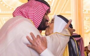 ولي العهد يغادر الكويت