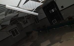 سقوط مقذوف عسكري في إحدى قرى ظهران الجنوب