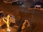 أمطار مكة تحتجز السيارات.. وإغلاق طريق الهدا