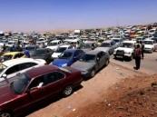 نزوح جماعي من الموصل بعد سيطرة (داعش) عليها