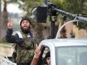 مقاتلو المعارضة السورية يتقدمون باتجاه مطار حماة العسكري