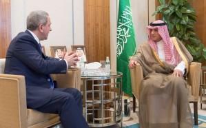 وزير الخارجية يستقبل سفير أذربيجان لدى المملكة