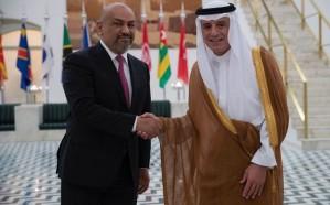 وزير الخارجية يستقبل نظيره اليمني