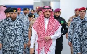 وزير الداخلية يفتتح مشروع إعادة تهيئة مراكز كلية الملك فهد الأمنية