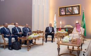 وزير الداخلية يستقبل نظيره المغربي