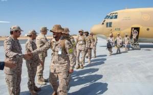 القوات المسلحة السعودية تصل مصر