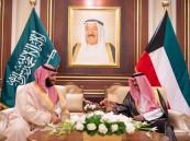 ولي العهد يصل الكويت