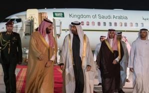 ولي العهد يصل الإمارات في مستهل جولته العربية
