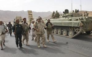 """الجيش اليمني يحرر مواقع جديدة في """"كتاف"""""""
