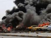 11 قتيلاً وجريحاً من رجال الأمن في تفجير نقطة أمنية بالعراق