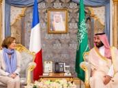 ولي العهد و وزيرة القوات المسلحة الفرنسية يوقعان على اتفاقية حماية المعلومات المصنفة والمحمية