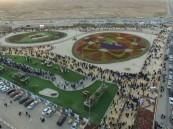 1.5 مليون زهرة تنسج سجادة تضامن المواطن مع رجل الأمن