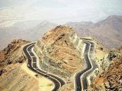 """""""مرور الطائف"""" يعلن إغلاق طريق جبل """"كرا الهدا"""".. غداً"""