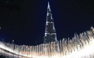 برج خليفة يحتفي بالسعوديين في اليوم الوطني للمملكة بطريقته الخاصة