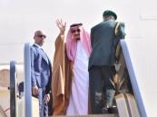 خادم الحرمين يغادر شرم الشيخ والرئيس اليمني يرافقه للرياض