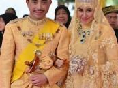 بالصور.. زفاف أسطوري للابن الأصغر لسلطان بروناي