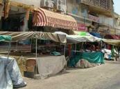 حملة لإزالة البسطات العشوائية في سوق المسترجعات بالطائف
