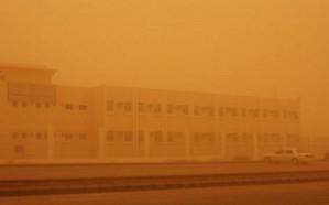 موجة غبار بالشرقية والمرور يناشد المواطنين والمقيمين توخي الحذر
