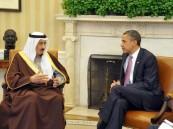 خادم الحرمين وأوباما يناقشان مستجدات ملف إيران النووي وتطورات الأوضاع في اليمن