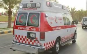 الهلال الأحمر يعلق على تأخر سيارات الإسعاف في نقل مصابي حادث عشيرة