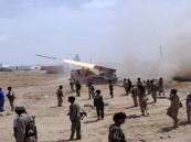 قصف مدفعي لتعزيزات المليشيا في نهم