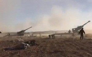 الجيش اللبناني يشن قصفا عنيفا على مواقع داعش