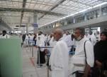 وصول أولى رحلات الحج الإيرانية لمطار المدينة