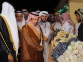 محافظ ميسان يدشن مهرجان العنب الثالث ببني سعد