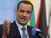 ولد الشيخ : الأمم المتحدة ستعمل ستبذل جهدها لتحقيق السلام في اليمن