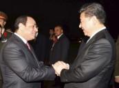 """الرئيس الصيني يدعم مساعي مصر """"للحفاظ على الاستقرار"""