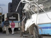 مصرع 10 أشخاص وإصابة 18 آخرين في حادث سير مروع في مصر