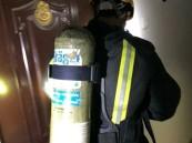 """إخلاء 30 شخصاً واختناق سيدة إثر حريق شقة في """"خميس مشيط"""""""