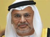 قرقاش: نجاح الرياض أساسي لنجاح الإمارات