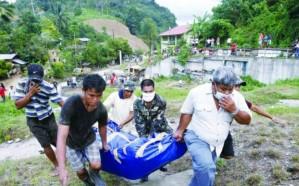 مصرع 30 شخصًا  في عاصفة استوائية جنوب الفيليبين