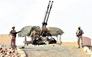 فيديو.. تدمير صاروخا باليستيا أطلقته ميليشيا الحوثي على نجران