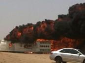 مرور جدة يكشف ملابسات وفاة 4 معتمرين بريطانيين وتفحم سائق في حادث مروّع