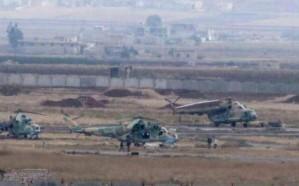 شاهد.. انفجارات عنيفة في مطار حماة العسكري وسط سوريا