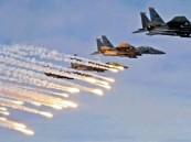 غارات للتحالف تفشل عملية إطلاق صاروخ باليستي للمليشيا الانقلابية باتجاه مأرب 