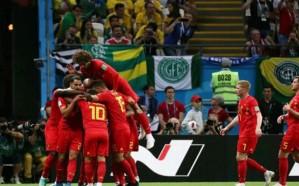 بلجيكا تقصي البرازيل وتتأهل للدور نصف النهائي من بطولة كأس العالم
