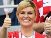 رئيسة كرواتيا تعلن عن مفاجأة كبرى حال فوز منتخب بلادها بالمونديال