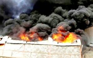 مليشيا الحوثي تقتحم مخازن برنامج الغذاء العالمي في الحديدة