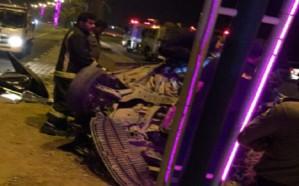 بالصور.. وفاة أفراد عائلة كاملة إثر حادث مروري مروع بجازان